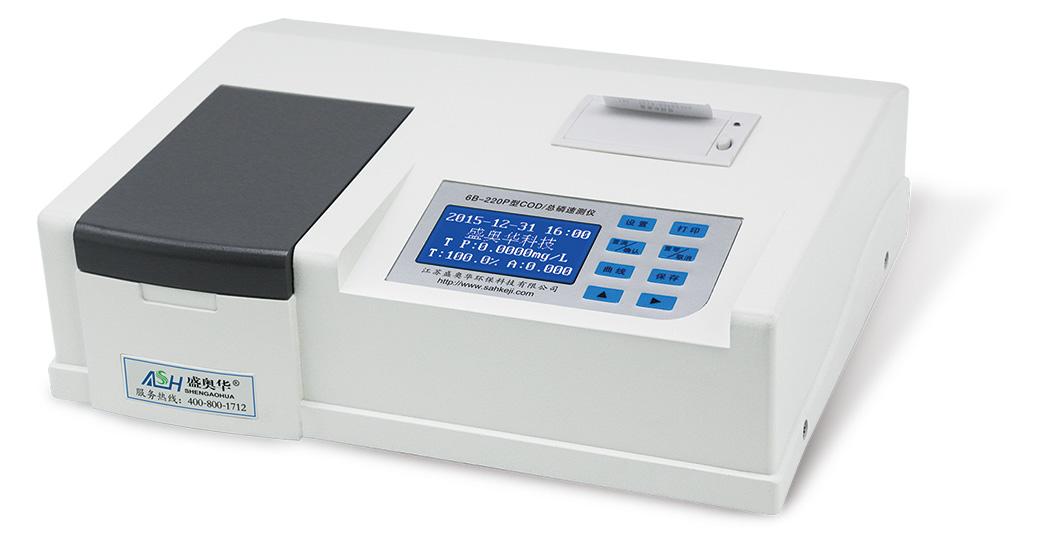 江苏盛奥华COD/总磷速测仪6B-220P