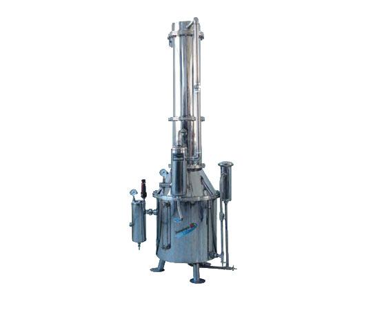上海三申不锈钢塔式蒸汽重蒸馏水器TZ50