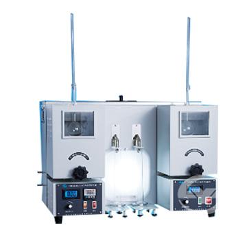 上海昌吉石油产品蒸馏试验器(双管式)SYD-6536A