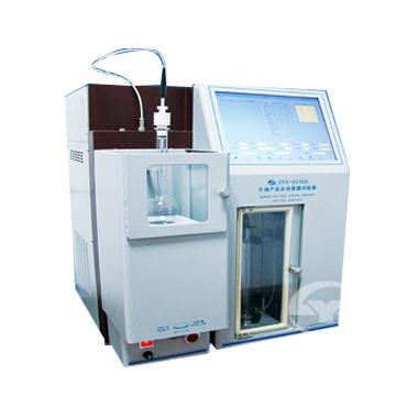 上海昌吉石油产品自动蒸馏试验器SYD-6536D