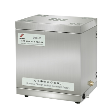 上海申安不锈钢电热蒸馏水器DZS-5