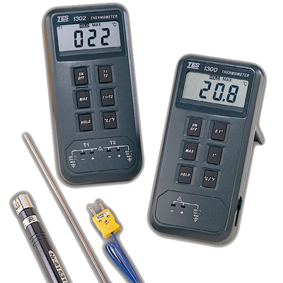 台湾泰仕数字式温度表TES-1300