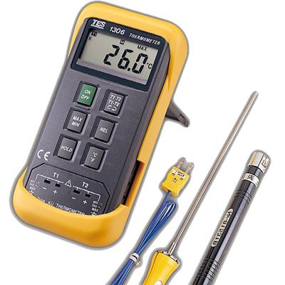 台湾泰仕数字式温度表TES-1306