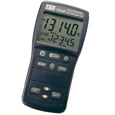 台湾泰仕 K.J.E.T.R.S.N.温度表TES-1313