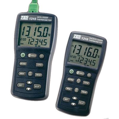 台湾泰仕 K.J.E.T.R.S.N.温度记录表TES-1315