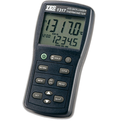台湾泰仕白金电阻温度表TES-1317
