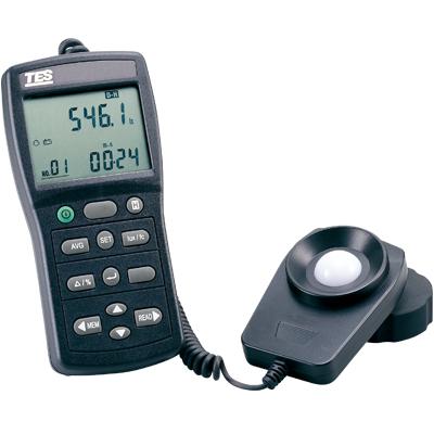 台湾泰仕记忆式数字式照度计TES-1339R