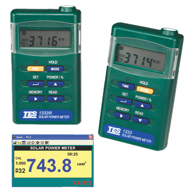 台湾泰仕太阳能功率表TES-1333R