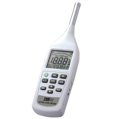 臺灣泰仕數字噪音計TES-52AA
