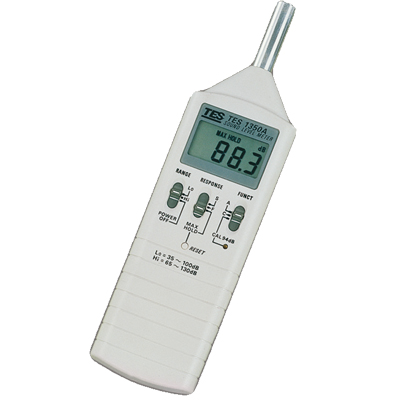 臺灣泰仕數字式噪音計TES-1350A