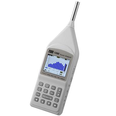 臺灣泰仕 1/1及1/3八音度實時音頻分析儀TES-1358E
