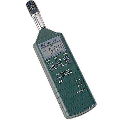 台湾泰仕数字式温湿度计TES-1360A