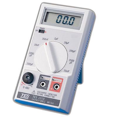 台湾泰仕数字式电容表TES-1500