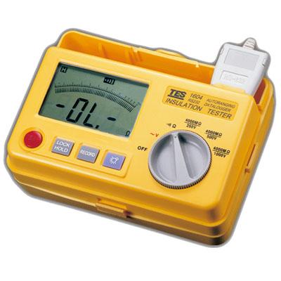 台湾泰仕RS-232记录式数位绝缘测试器TES-1604