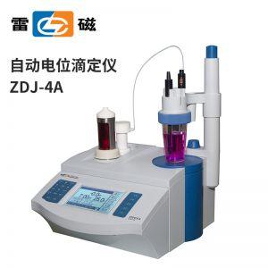 上海雷磁ZDJ-4A型自动电位滴定仪数显台式容量调节氧化还原测试仪