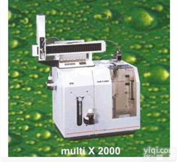 总有机卤素(AOX)分析仪multi X2000