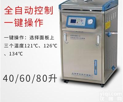 立式压力蒸汽灭菌器 高压灭菌锅医用消毒锅