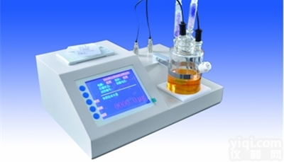 智能卡爾費休微量水分測定儀