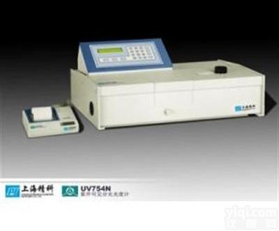 上海仪电分析754N紫外可见分光光度计