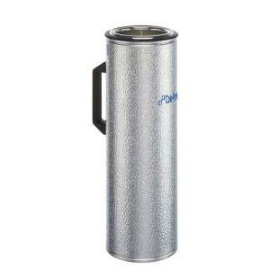 Cole-Parmer Aluminum-Glass Dewar Flask with Handle