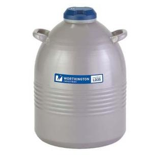 Worthington 35LDB Liquid Nitrogen Storage Dewar