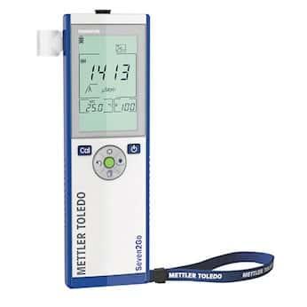 Mettler Toledo S3-Meter Portable Conductivity Meter; 0.01 uS to 500 mS