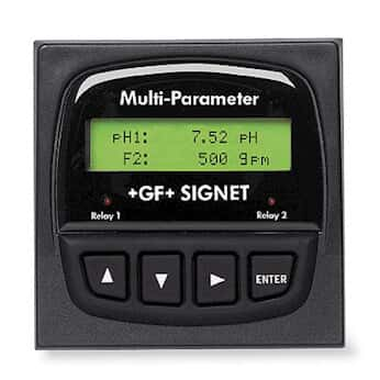 GF Signet 3-8900 Multiparameter Controller Base Unit with Back-lit LCD