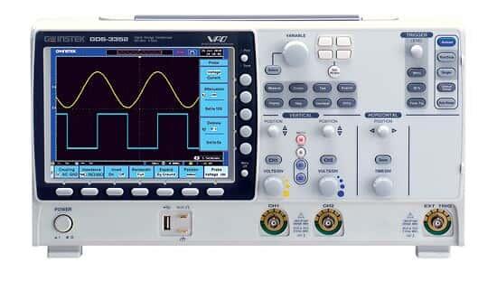 GW Instek GDS-3352 Oscilloscope, 2 Channel, 350 MHz