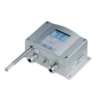 Vaisala PTU300 Pressure, RH/, and Temperature Transmitter (Display - Remote Probe)