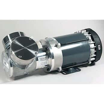 KNF UN035.1.2STI EX Explosion Proof Motor Vacuum Pump, 316SS/PTFE; 2.0 cfm/27