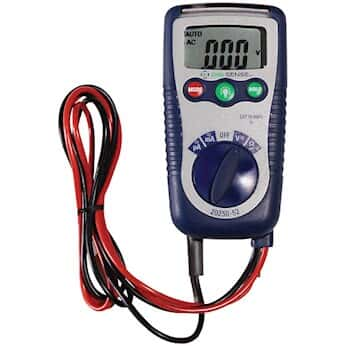 Digi-Sense Three-in-One Digital Multimeter with NIST-Traceable Calibration