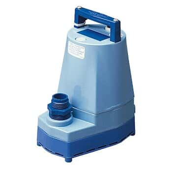 Economical Submersible Pump, High-Flow Utility, 20 GPM, 230 VAC, 12' cord