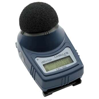 Casella CEL-350 Casela Individual Micro Noise Badge, with Mounting Clips and Windscreenr Only
