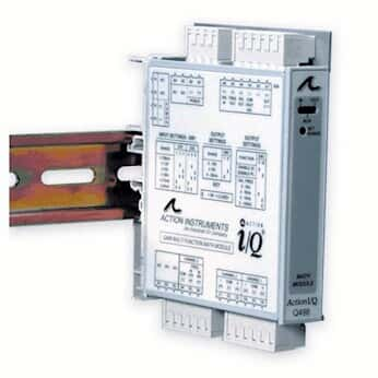Eurotherm-Action Instruments IQRL-2002 Rail AC Power Distribution Bus; 2 Modules
