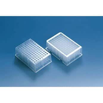 BrandTech 701346 Deep Well Plate, 96-well, PP, 0.5 mL, Standard, U-Bottom; 48/PK
