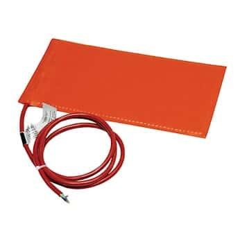 BriskHeat SRP12242 Silicone Heating Blanket, 12x24 Size, 240 Volt, 360 Watt, for plastic surfaces