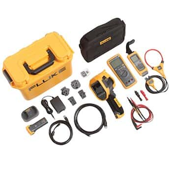 Fluke FLK-TI300 60HZ/FCA Thermal Imager with 3000 Fc DMM and A3001Fc Iflex Module Kit