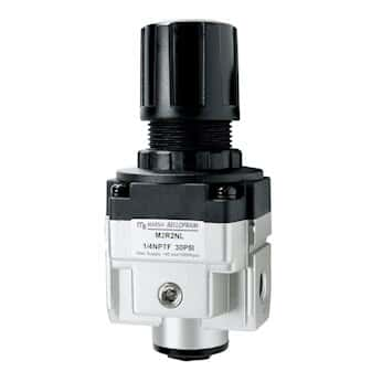 Marsh Bellofram M2R2NL Miniature Air Regulator, 30 psig, 1/4
