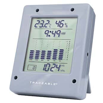 Traceable Digital Barometer with Calibration