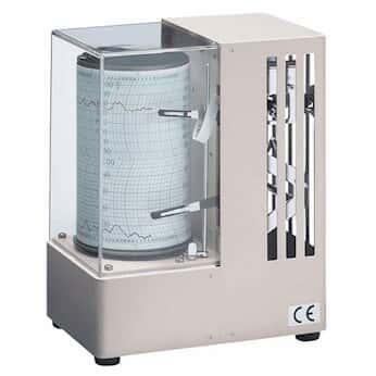 Oakton 溫濕度計圖表記錄儀用紙; -6-40℃, 7 天, 2 小時; 100 張/包