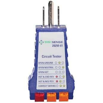 Digi-Sense Standard Receptacle Tester SKU 2025061