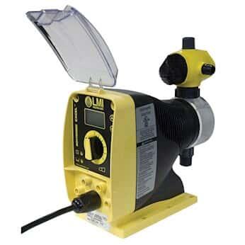 LMI AD845-928SI Solenoid Metering Remote Control, 0.005 to 0.5 GPH, 250 PSI, 230 VAC