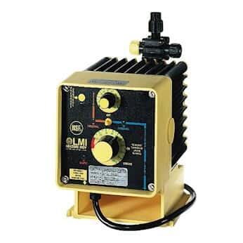 LMI C741-36 Solenoid-Diaphragm Metering Remote-Control Pump, 20.0 GPH, 115 VAC
