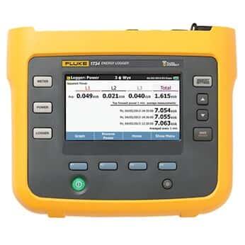Fluke 1734/EUS Energy Logger, Advanced with FlukeConnect®, with Flex Probes
