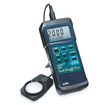 Extech 407026 High-Intensity, Dual-Scale Light Meter
