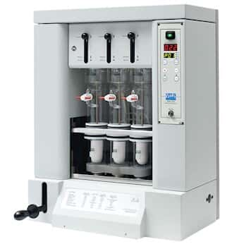 Velp SER 148/3  Solvent Extractor, 3 positions, 500W, 115V