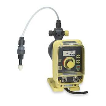 LMI AA972-358SI Digital Remote-Control Solenoid-Diaphragm Metering Pump, 0.42 GPH, 230 VAC
