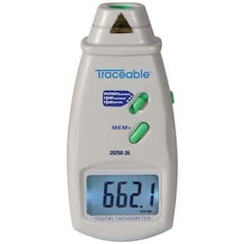 Traceable Digital Contact/Photo Tachometer