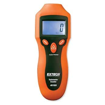 Extech 461920 Mini/Pocket-Size Laser Photo Tachometer