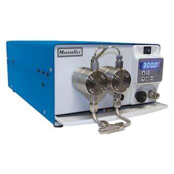 Masterflex High-Flow Dual Piston Pump, with Dampener, 300 mL/min, 316 SS; 100-240 VAC